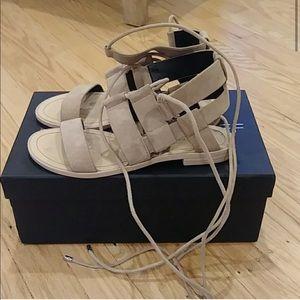 Rebecca Minkoff neutral sandals size 5.5